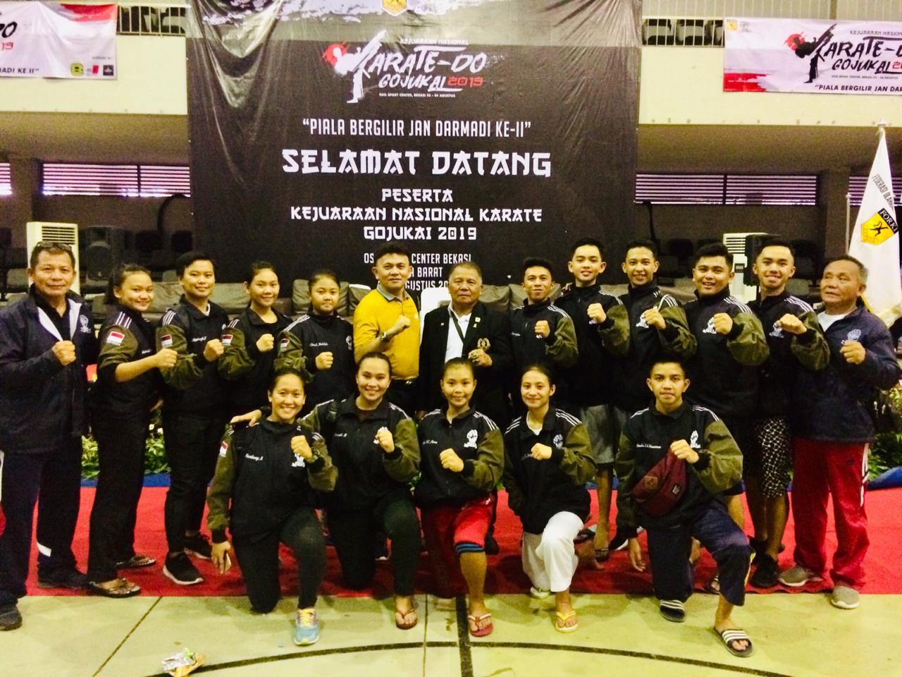 Gojukai Sulut Berjaya di Kejurnas Karate-Do Jabar, Satu Atlet Diutus ke Kejuaraan Dunia