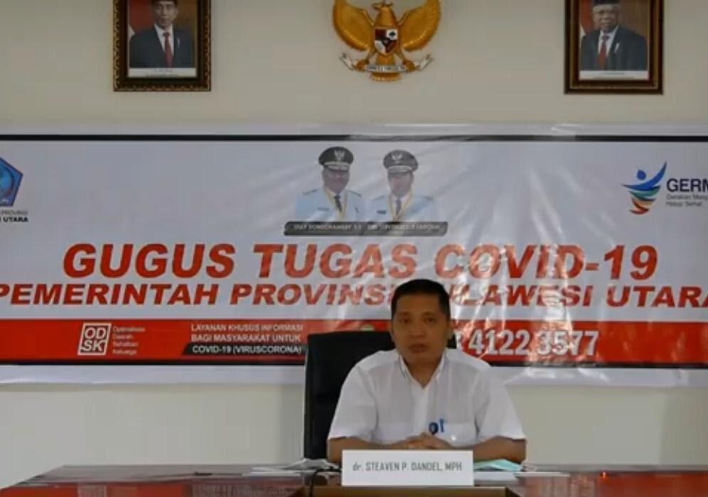 Akhir Pekan Ini, Sulut Ketambahan 33 Pasien Corona, Ada dari Jawa Tengah