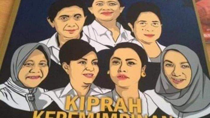"""Bersama Puan dan Risma di """"Cover"""" Majalah Nasional, CEP Perempuan Inspiratif Indonesia"""
