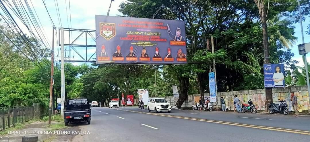Keren! Bilboard Mubes LMI Tersebar di Manado dan Tomohon