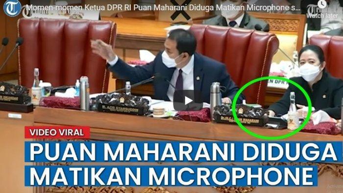 Puan Maharani Viral Lagi, Gara-gara Matikan Microphone Anggota Fraksi Demokrat Saat Interupsi Pengesahan RUU Cipta Kerja