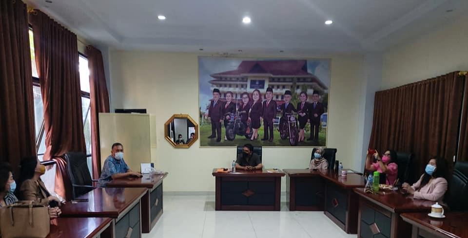 DPRD Manado Terima Kunjungan Kerja Anggota Dewan Minsel