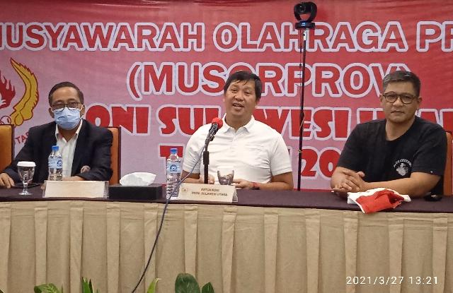 Steven Kandouw Terpilih Aklamasi Jabat Ketua Umum KONI Provinsi Sulut