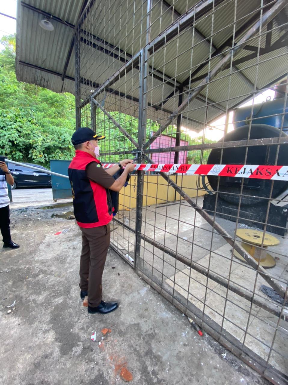 Kejari Manado Sita 4 Unit Mesin Incenerator