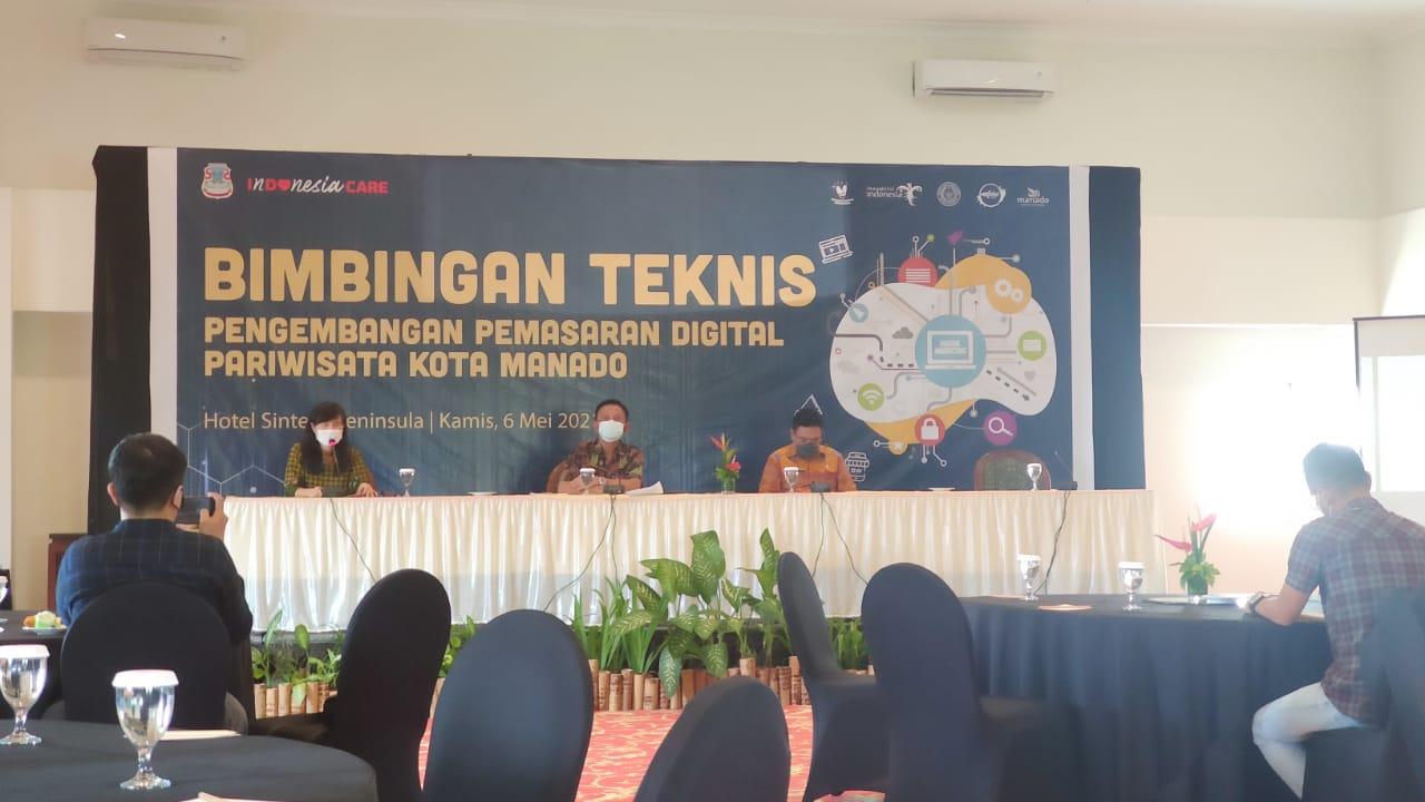 Kadispar Lenda Ajak Media Bantu Promosikan Pariwisata Manado Secara Digital