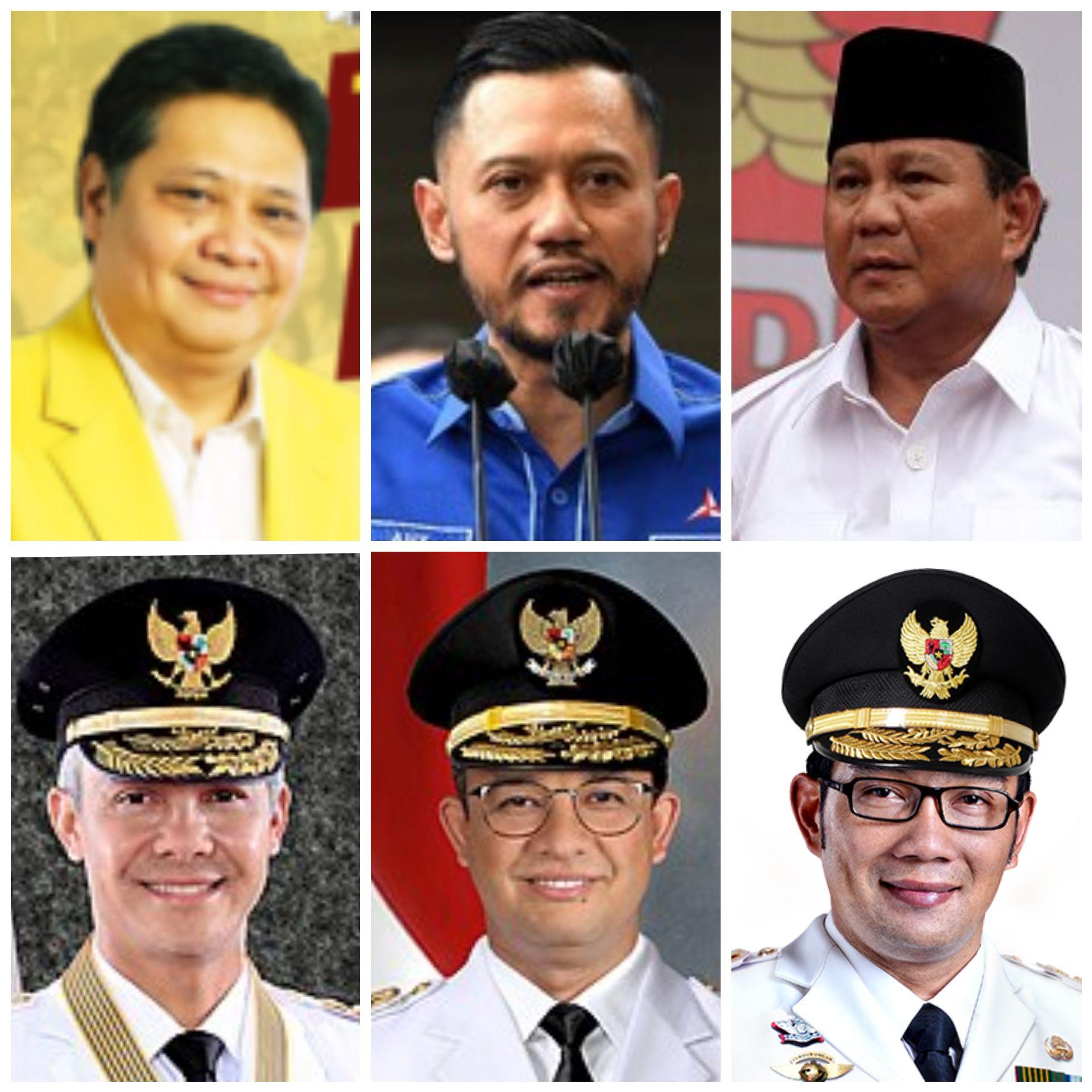 Capres Elektabilitas vs Capres Ketum Parpol, Siapa Paling Berpeluang Maju Pilpres?