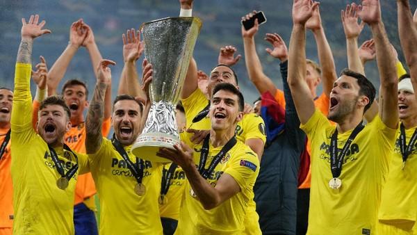 Villarreal Juara Liga Europa Usai Kalahkan MU dengan 22 Penalti, Wakil Spanyol di Liga Champions Jadi Lima