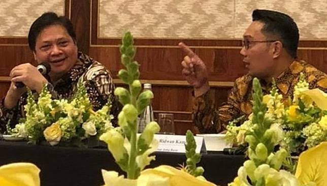 Anies dan Ganjar Sulit, Ridwan Kamil Lebih Berpeluang Dampingi Airlangga