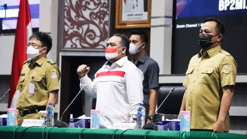 Walikota Andrei Angouw Tandatangani MoU dengan BP2MI