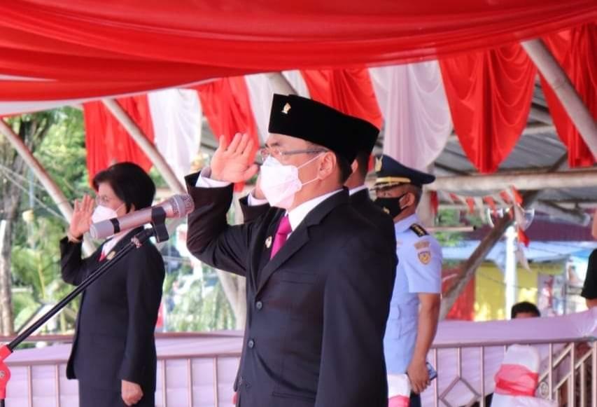 Jadi Irup HUT Kota Manado, Walikota Andrei Gelorakan Spirit Gotong Royong Hadapi Covid-19