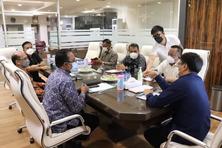 Dikunjungi Kepala BPKP Sulut, Walikota Manado Berharap Jadi Mitra Kerja Strategis